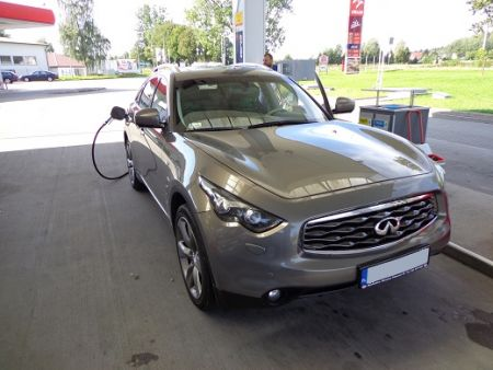 <strong>Instalacja LPG</strong> Infiniti  FX50s 5.0l LOVATO