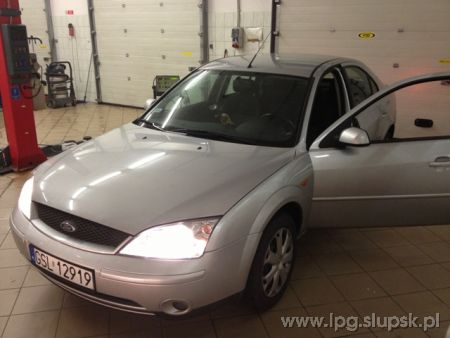 <strong>Instalacja LPG</strong> Ford  Ford Mondeo