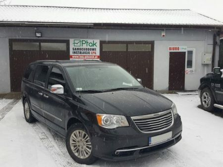 <strong>Instalacja LPG</strong> Chrysler  Town&Country Voyager BRC