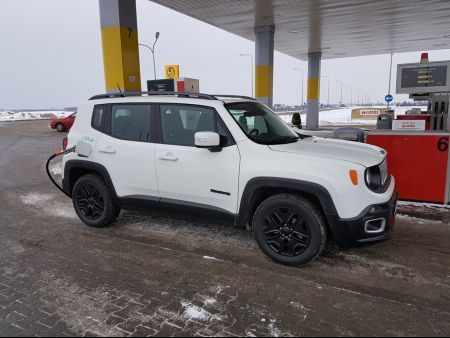<strong>Instalacja LPG</strong> Jeep  Renegade 1.4t Multiair Lovato