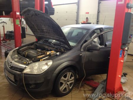 <strong>Instalacja LPG</strong> Opel  ASTRA III H 1.6 16V