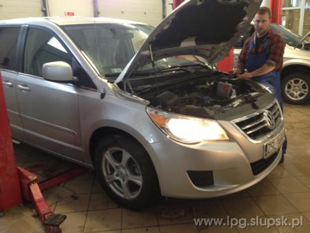 <strong>Instalacja LPG</strong> Volkswagen  Routan V6 3,8