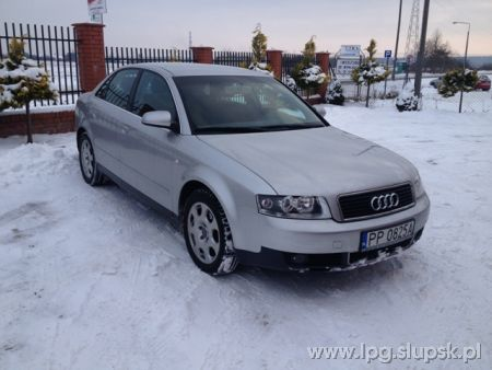 <strong>Instalacja LPG</strong> Audi  A4 2.0