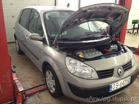 <strong>Instalacja LPG</strong> Renault  Scenic