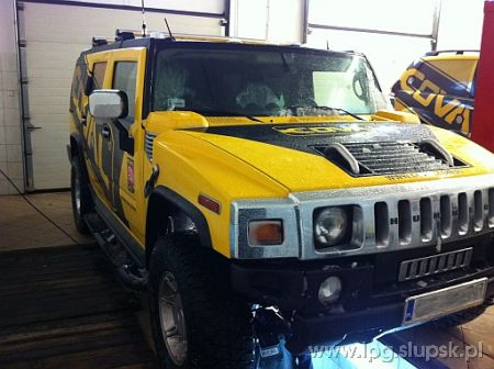 <strong>Instalacja LPG</strong> Hummer  H2 LPG