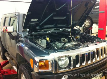 <strong>Instalacja LPG</strong> Hummer  H3 LPG