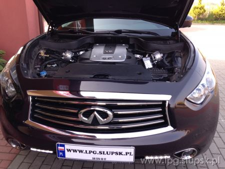 <strong>Instalacja LPG</strong> Infiniti  FX35 3.5