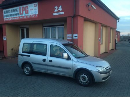<strong>Instalacja LPG</strong> Opel  Combo