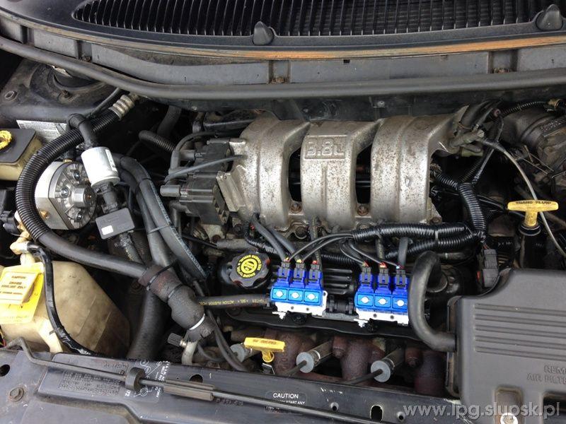 Instalacja Lpg Chrysler Grand Voyager Gs 3 8 V6