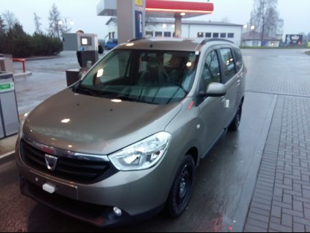 <strong>Instalacja LPG</strong> Dacia  Lodgy 1.6l SCE 100 LPG Euro 6 102KM