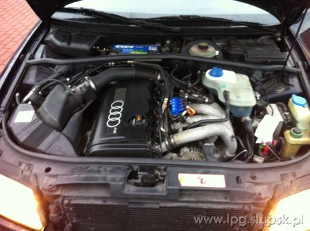 <strong>Instalacja LPG</strong> Audi  A4