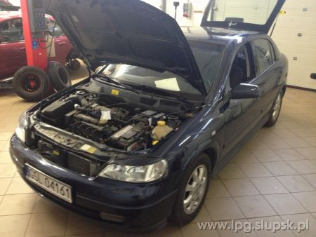 <strong>Instalacja LPG</strong> Opel  Opel Astra G II 1.6 8v